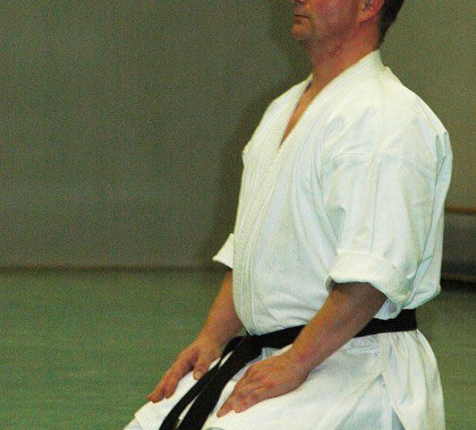 Sven Grote in seiza