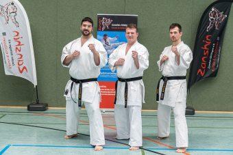 bestandene Dan-Prüfungen: Christoph Reinecke, Sven Grote, Janosch Seewe