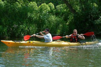Christoph und Sven, Kanufreizeit Diemel