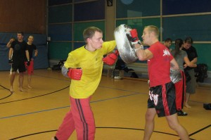 Kickbox-Training, Karateverein Zanshin Göttingen