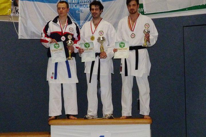 Johannes Schmitz wird Vize-Landesmeister im Kumite, Niedersächsische Landesmeisterschaften 201, P1010150_800px