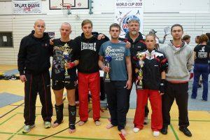Zanshin Fightteam bei der Kickbox-WM (WFMC) 2013