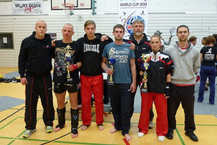 Zanshin Fightteam bei der Kickbox-WM (WFMC) 2013