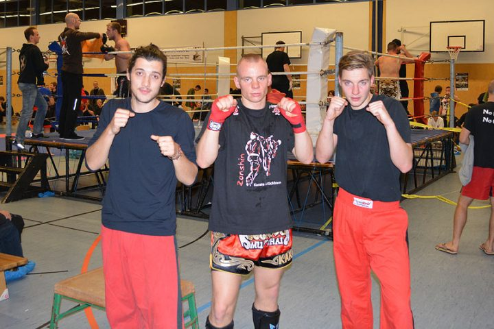 Jann-Philip Ahlers, Johannes Schmitz und Marc Rothe, BB-Open 2013