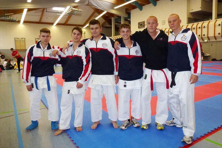 Zanshin Fightteam auf den 1. Echsfeld Open 2013