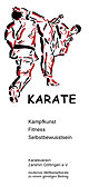 Flyer Karateverein Zanshin Gttingen e.V.