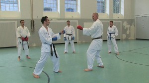 Video: Kumite-Training mit Steve Mosmondor