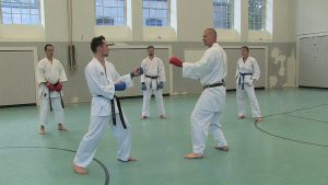 Video: Kumite-Training mit Steve Mosmondor