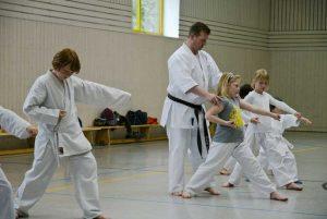 Sven Grote Karate-Training Kinder-Anfängerkurs