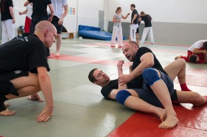 1. Göttinger Budolehrgang. Grappling, Judo, Kali Sikaran, Karate, Kickboxen, Modern Arnis, Taekwondo. Ausrichter: Karateverein Zanshin Göttingen