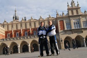 Timm und Johannes, Marktplatz Krakau