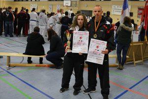 Stefanie Opola und Johannes Schmitz, Europameisterschaften der EIKO 2013
