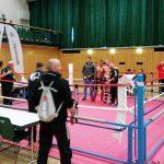 Kampfgemeinschaft von Sportschule TM und Zanshin Göttingen bei den Deutschen Meisterschaften im Kickboxen (WKU) in Leinefelde 2017