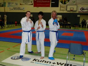 Zanshin Kumite-Mannschaft, Niedersächsische Landesmeisterschaften 2012, P1010146_800px