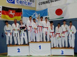 Zanshin Kumite-Mannschaft, 2. der Niedersächsische Landesmeisterschaften 2012, P1010156_800px