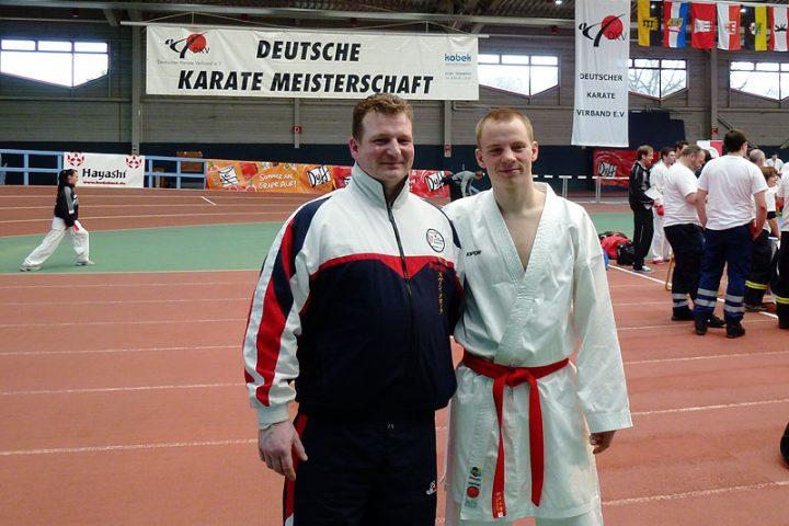 Sven Grote und Johannes Schmitz bei den Deutschen Meisterschaften 2012 in Erfurt