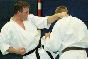 Sven Grote beim Selbstverteidigungs-Training