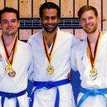 Jannik Warmbold, Malte Friedrich, Mohamed ElBrolosy, Fulda-Cup 2015