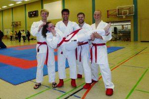 Zanshin-Kumite-Team bei Altmarkpokal in Gardelegen 2013