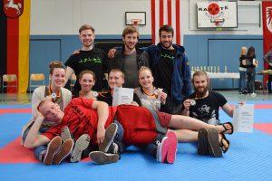 Karate-Team der Uni Göttingen, Deutsche Hochschulmeisterschaft 2014