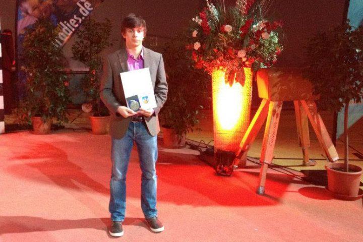 Hendrik Geiling erhält Sportplakette 2011 der Stadt Göttingen
