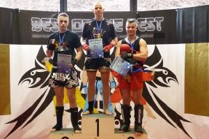 Johannes Schmitz ist Deutscher Meister 2013 im K1 (-81 kg) des Verbandes ISKA