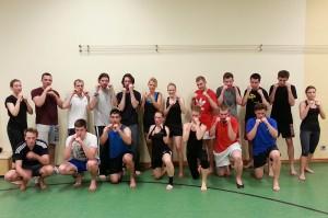 Kickbox-Einsteigerkurs am 20.05.2014.