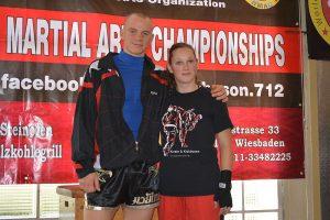 Johannes Schmitz und Stefanie Opola, Mainhattan-Cup 2013, ISKA