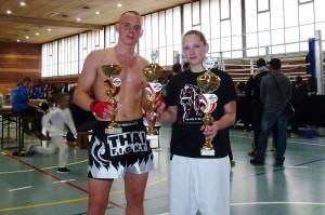 Johannes Schmitz und Stefanie Opola, Nationencup WKU 2013