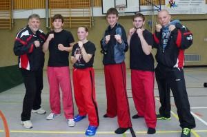 Kampfgemeinschaft Yong/Zanshin auf der Qualifikation zur DM der WIASKA 2013