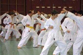 Karate Anfängertraining, Age Uke, Karateverein Zanshin Göttingen