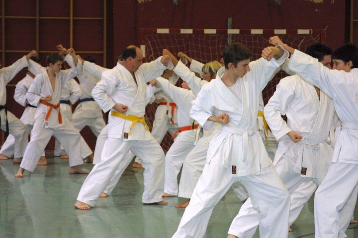 Karate Anfängertraining, Age Uke, Karateverein Zanshin Göttingen