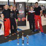 International Northern Championship der WKU 2015: Malte Dehling, Laura, Johannes Schmitz, Stefanie Opola, Thomas Morio.