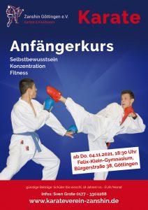 Karate Anfängerkurs Zanshin Göttingen